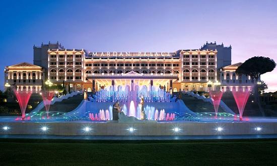 В Анталии Mardan Palace приостановил бронирование номеров