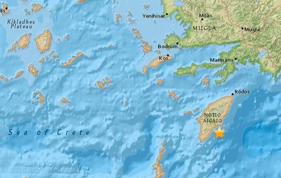 Опять стихийное бедствие! Землетрясение силой 4,8 баллов потрясло турецкий курорт Мармарис