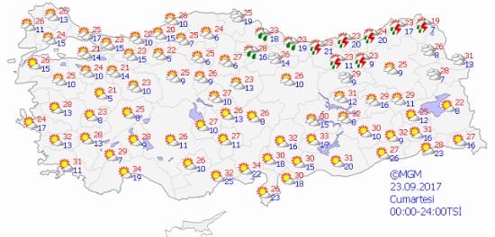 Какую погоду ждать в бархатном сезоне на курортах Турции