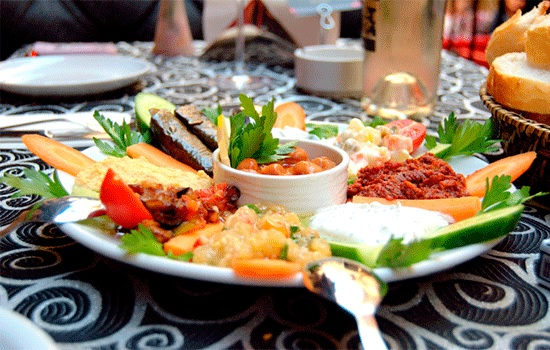 Что такое турецкие мезе?