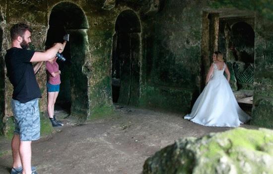 Монастырь в Кыркларели привлекает туристов как студия для фотографии