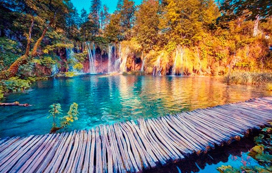 Путешествие мечты: Национальный парк Плитвицкие озера