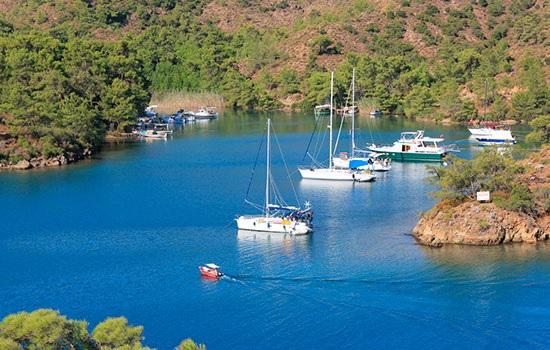 Где находятся самые красивые бухты Турции?