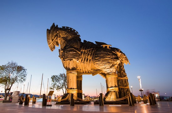 В Турции Троянский конь отнял жизнь туриста