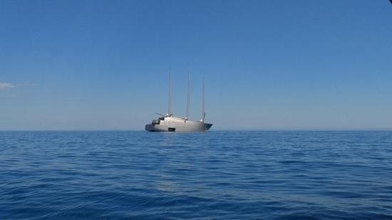 Яхта за несколько сотен миллионов евро российского бизнесмена была замечена в турецком Мармарисе