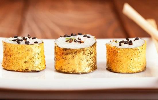 Хотите драгоценное блюдо? Попробуйте съедобное золото в лучших ресторанах мира