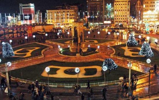 В Стамбуле площадь Таксим будет закрыта для празднования Нового года