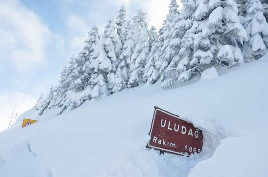 Поклонники зимнего отдыха массово бронируют отели и заказывают путёвки в Улудаг