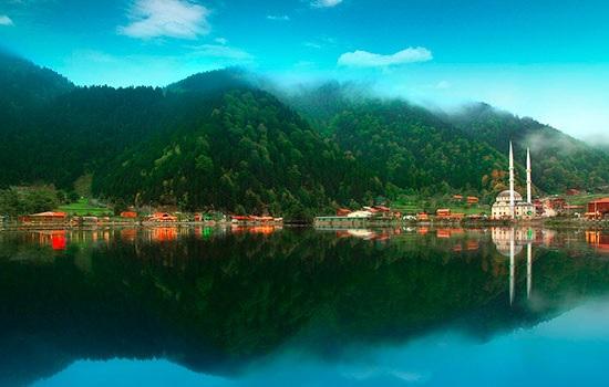Дикое и обустроенное побережье Черного моря в Турции
