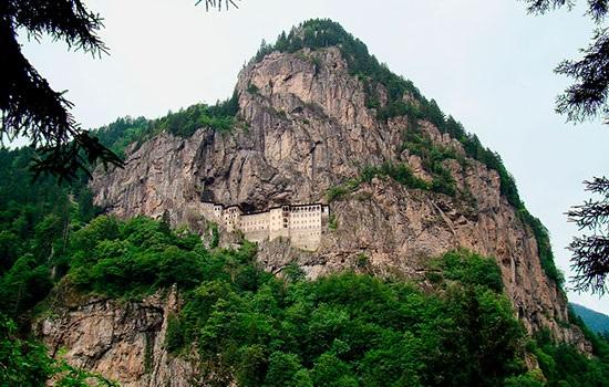 Каждый раздел монастыря Сумела откроется для посетителей