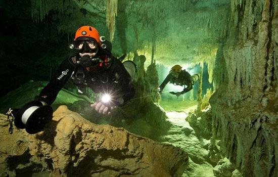 Самая большая в мире затопленная пещера обнаружена в Мексике