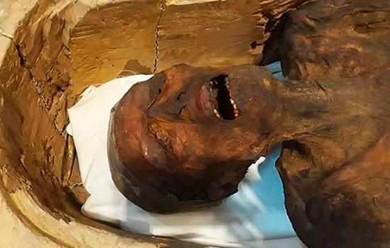 В Египте демонстрирует «Кричащую мумию» в Каирском музее