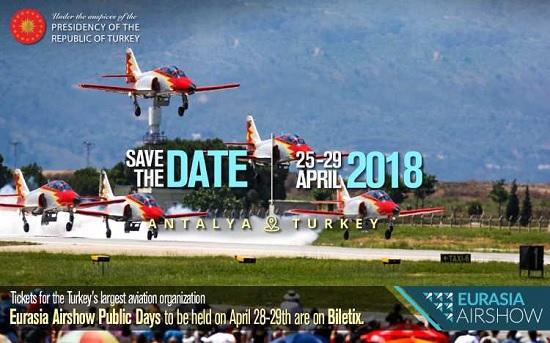 Авиасалон Eurasia Airshow в Анталиии будет ежегодным