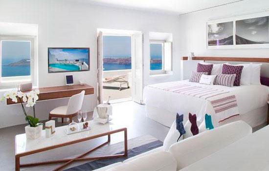 Роскошный бутик-отель Grace Santorini открыт в течение сезона с 15 апреля 2018 года по 31 октября 2018 года