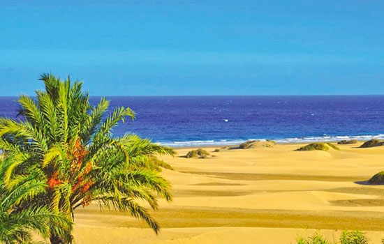 Лучшие пляжи на Гран-Канарии