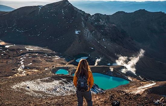 Поездка на вулканический массив в центральной части Северного острова Новой Зеландии под названием Тонгариро