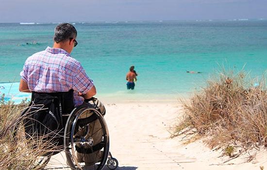 Инвалиды все больше и больше принимают участие в туризме