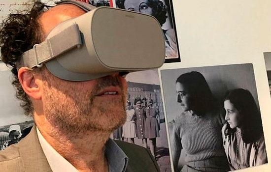 Дом-музей Анны Франк в Амстердаме позволяет перенестись с виртуальную реальность во времена Второй Мировой Войны