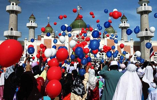 Испытайте дух праздника турецкого северо-западного города Кырккларели во время праздника Ид-аль-Фитр