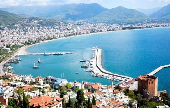 Дорожная поездка вдоль южного побережья Турции