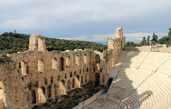 Самые большие достопримечательности в Афинах
