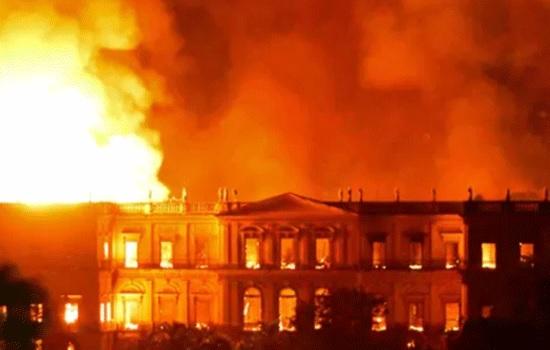 ЮНЕСКО: музею Рио-де-Жанейро может понадобиться десятилетие, чтобы восстановиться после пожара