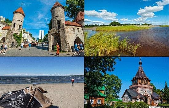Эстония названа лучшим альтернативным местом отдыха в Европе