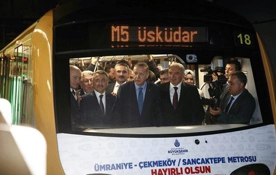 Запущена вторая линия бездискового метро в Стамбуле, обслуживая 700000 пассажиров в день