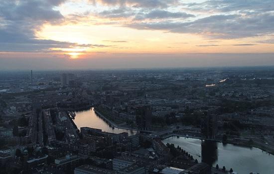 Смотровая башня Euromast — лучший пункт обзора панорамы в Роттердаме