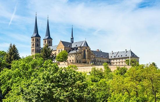 Бамберг — привлекательный город с Германии с прекрасной архитектурой
