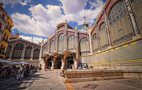 Цветной центральный рынок Валенсии