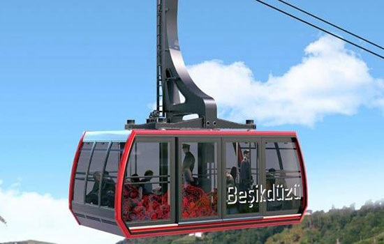 Новая ветка канатной дороги длиной в 3100 метров открыта в Трабзоне
