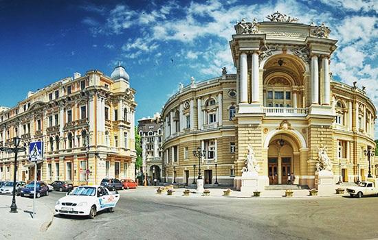 Посещение Одессы с минимум затрат