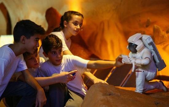 Космический лагерь в Турции приглашает испытают жизнь на Марсе с помощью интерактивных модулей