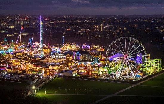 Развлекательная программа Winter Wonderland возвращается в Гайд-парк Лондона