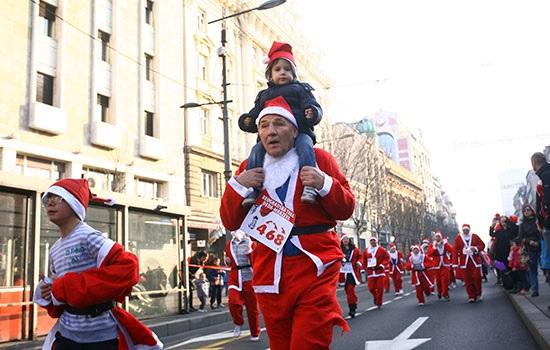 Рождество в столице Сербии Белграде