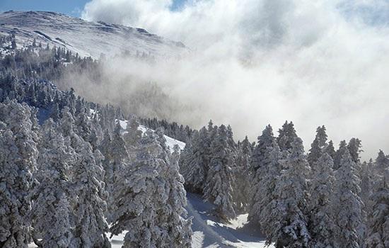 Бурса — курорт, где снег встречается с горячими источниками