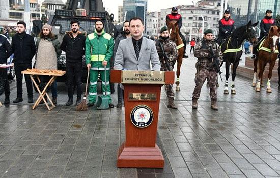 39 000 сотрудников службы безопасности будут дежурить в канун Нового года в Стамбуле