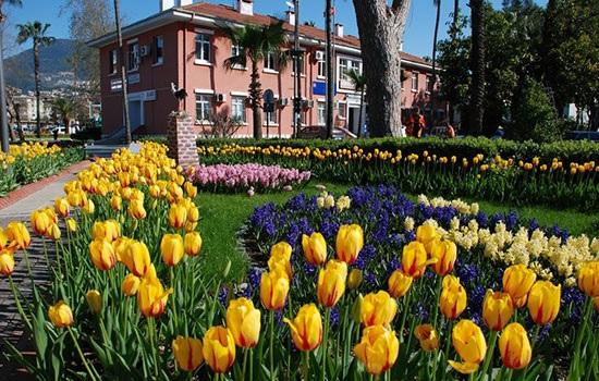 Турция весной. Аланья: погода, температура воды, проживание, питание