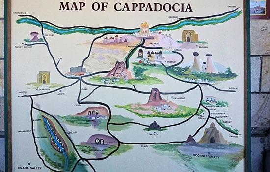 Все, что вам пригодится во время путешествия по Каппадокии