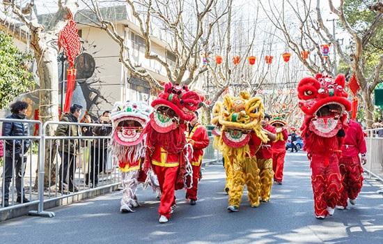 Праздник китайской весны привлекает огромное количество туристов