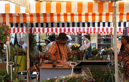 Лучший цветочный рынок Парижа