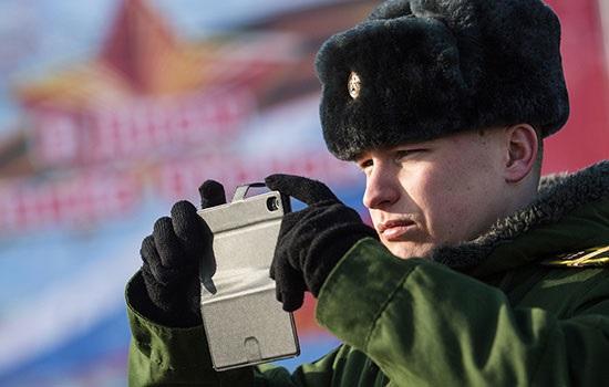 Госдума запретила российским военным пользоваться гаджетами