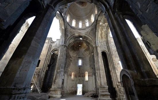 Грузинская церковь 10-го века будет способствовать развитию туризма в восточном турецком Эрзуруме