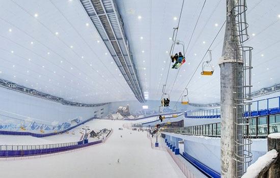 Южный Китай будет иметь крытый горнолыжный курорт