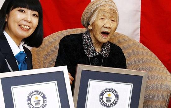 116-летняя японка — старейший человек в мире по версии Книги рекордов Гиннесса