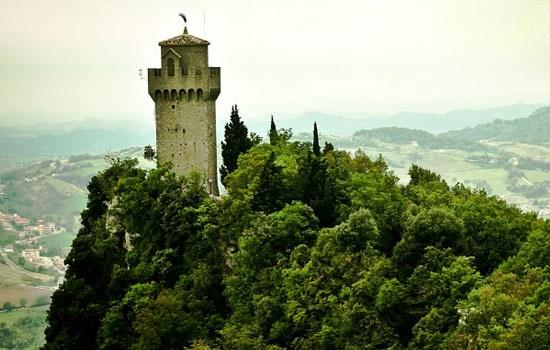Сан-Марино — одна из самых маленьких стран в мире