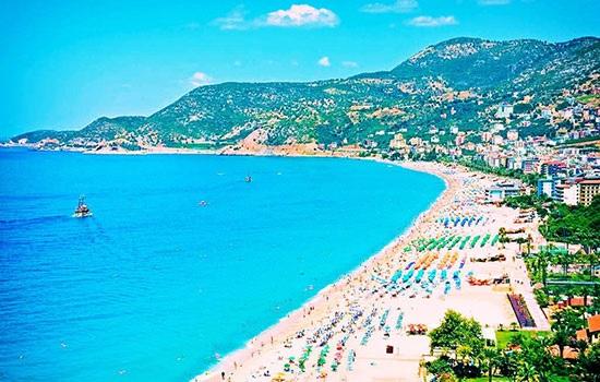 Самые известные пляжи в Турции