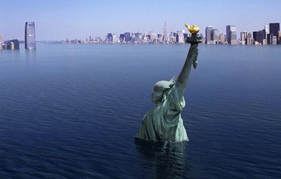 Исследования показывают, что глобальные уровни моря могут подняться на 2 метра к 2100 году