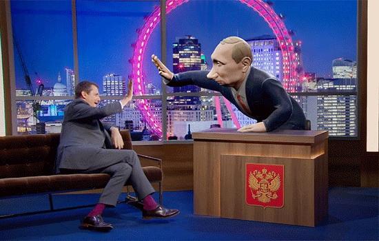 Как Путин отреагировал на шоу BBC, где ведущим является его кукольный двойник